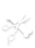 Scissors and Bone Icon